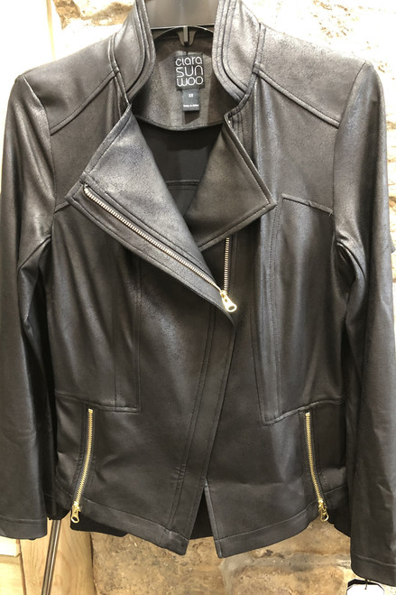 Liquid Leather Jacket