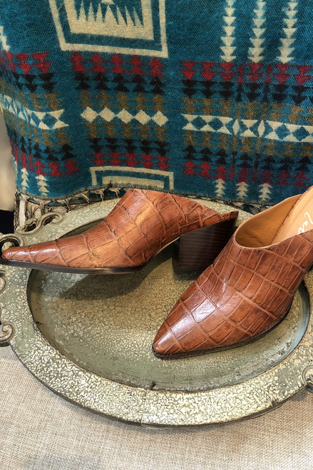 Italian leather slides