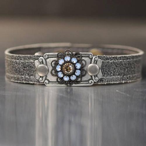 Vintage Stone Stacker Bracelet