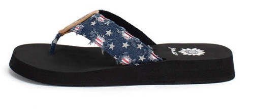 Fireworks sandals