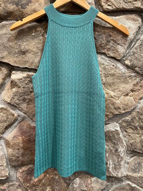 Halter knit top