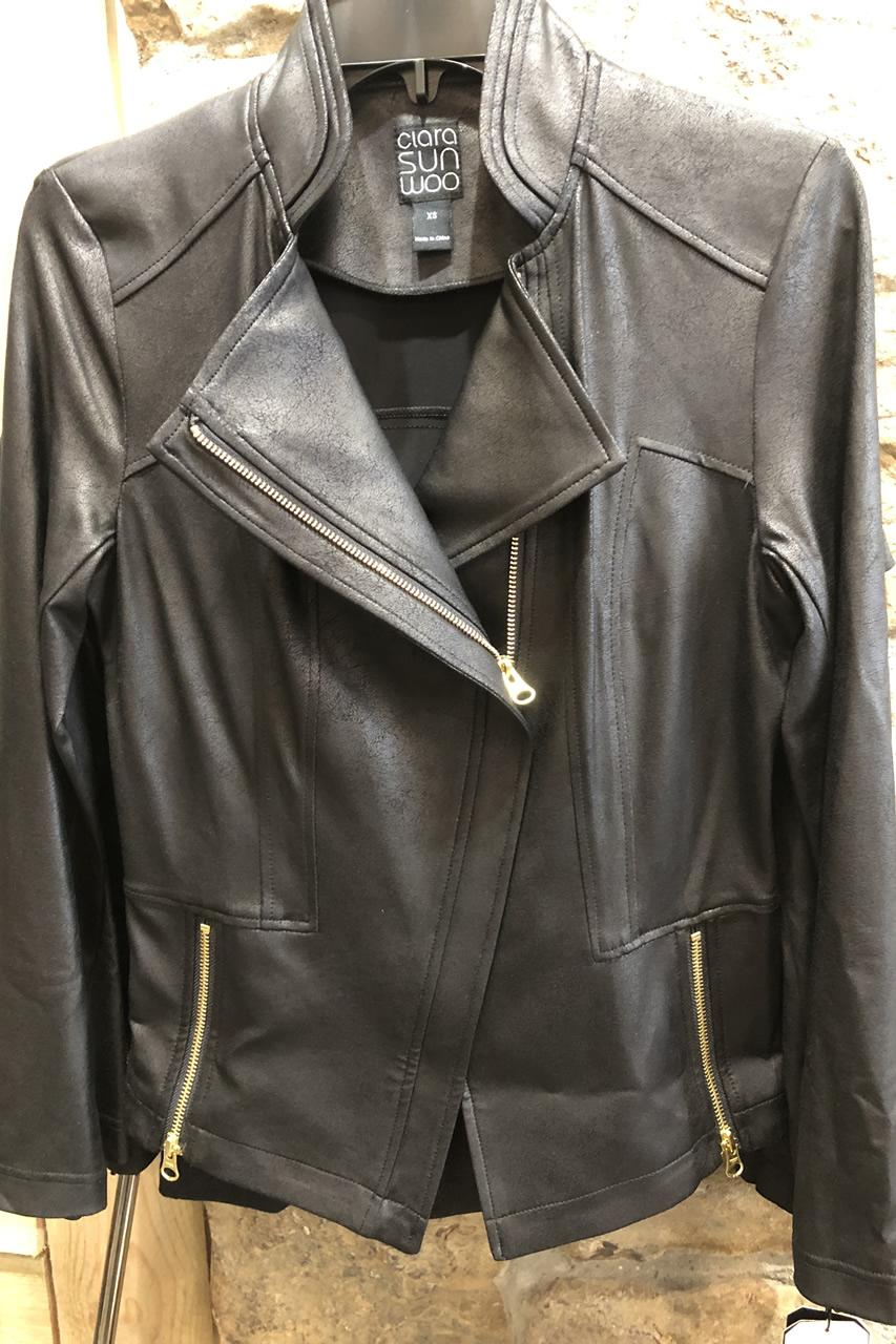 Liquid Leather Jacket