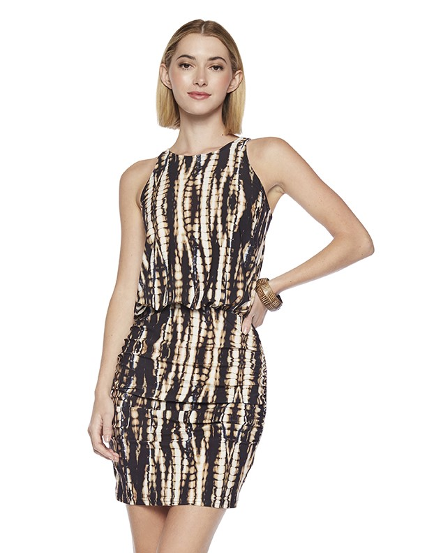 Conduct Dress in Knowhow Print
