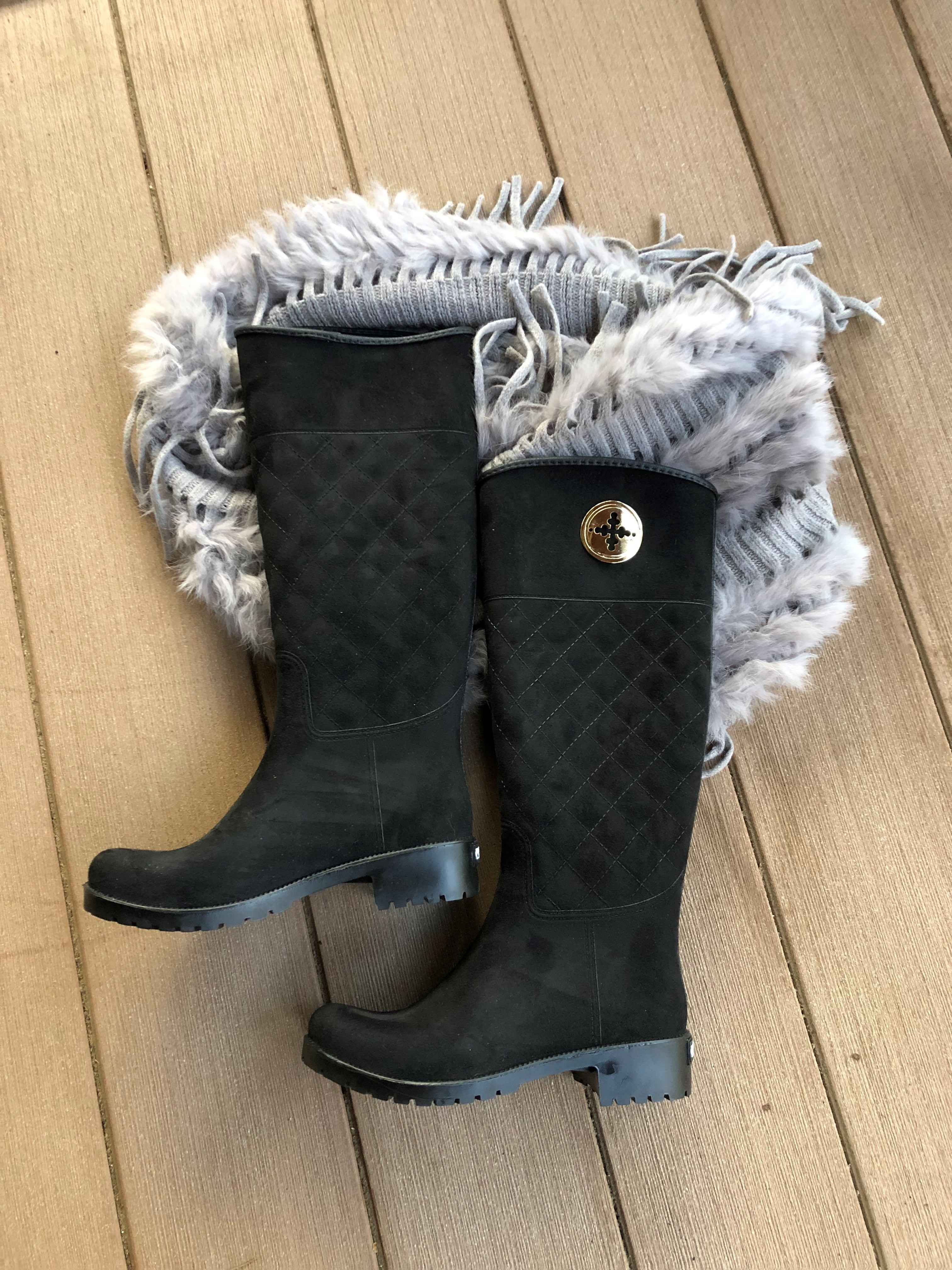Quilted Waterproof Boots
