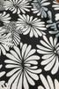 Canvas Fabric   Japanese Floral - black $48/mt