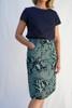 Avril Skirt Long | Mikko - sea green