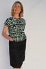 Avril Skirt Long   Plain black
