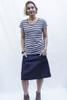 Heidi Skirt Short | Indigo denim
