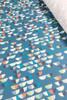 Cotton poplin | mini semi blue $40/mt - $10/quarter mt
