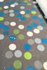Stretch cotton sateen | Charlie charcoal $40/mt - $10/quarter mt