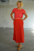 Front view with Elle Top Coral