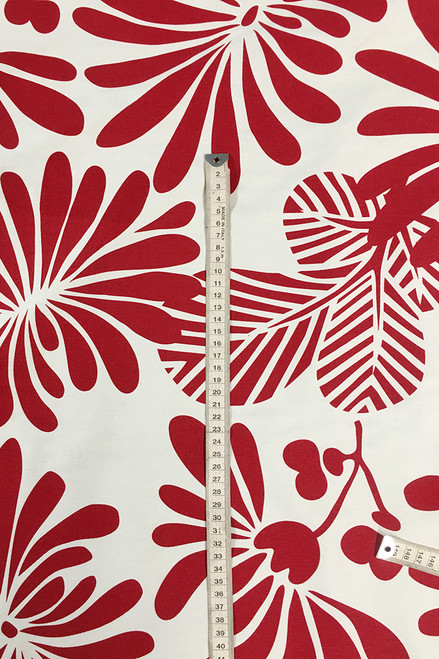 Drill Fabric   Japanese Floral $40/mt