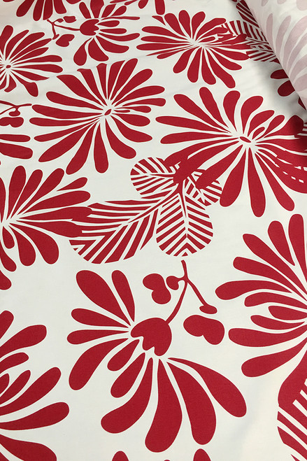 Drill Fabric | Japanese Floral $40/mt -  $10/quarter mt