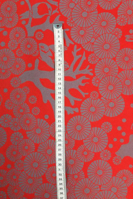 Canvas Fabric | Mikko - jaffa $48/mt -  $12/quarter mt