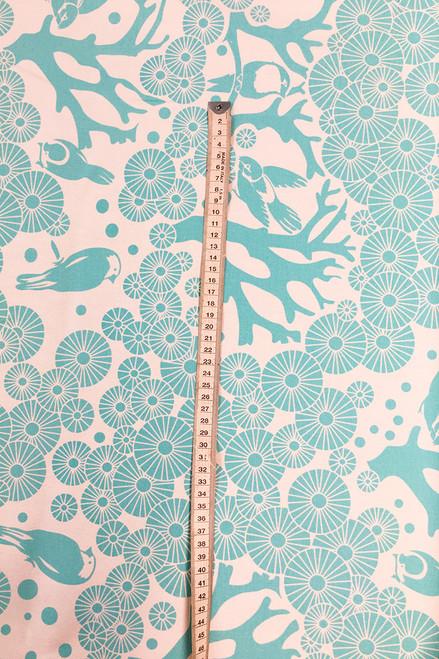 Canvas Fabric | Mikko - mist $48/mt -  $12/quarter mt