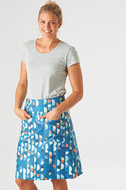 Cotton twill | mini semi blue $40/mt