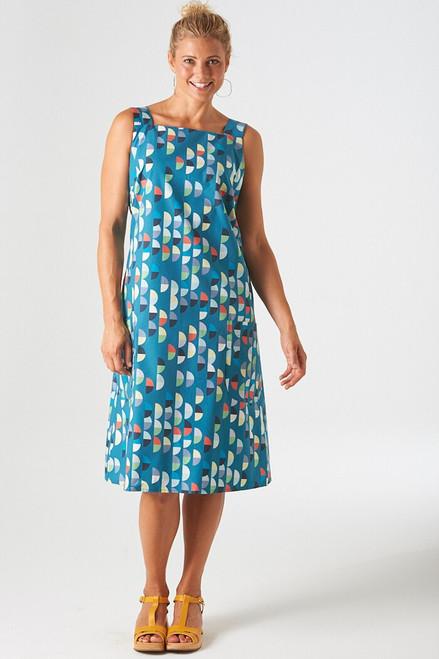 Cotton poplin | mini semi blue $40/mt