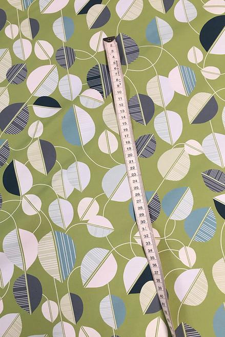 Lightweight cotton sateen   leaf green $40/mt