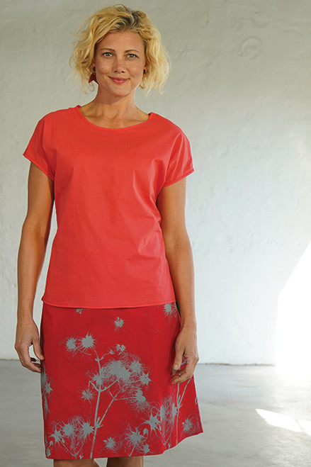 Tilly Top | soft coral
