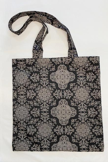 Library Bag   baroque black