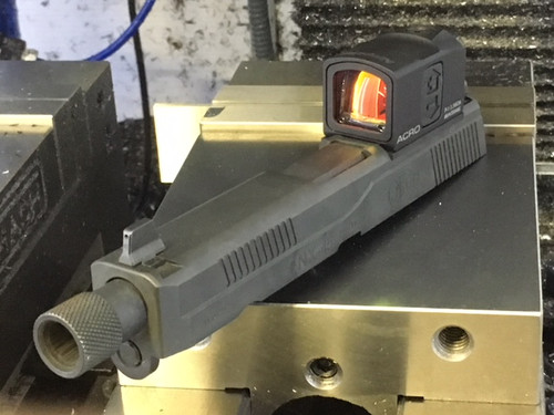 Extended Magwell for Polymer 80 Glock Frame - FarrowTech