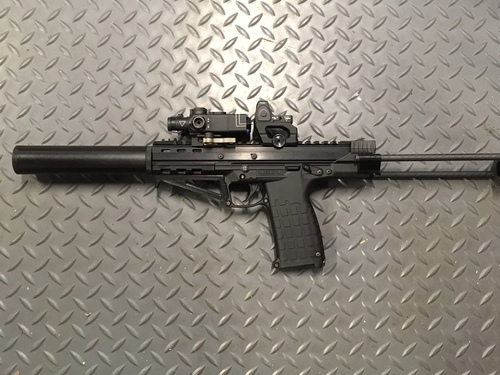 KelTec CP33 AFG (Angled Foregrip)