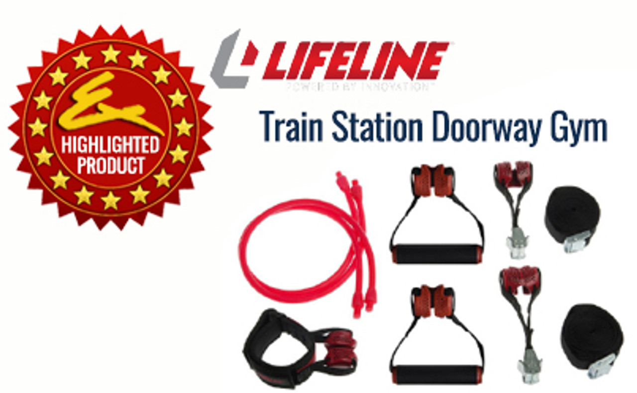 Crosstrainer Fitness & Jogging Lifeline TRAIN STATION DOORWAY GYM