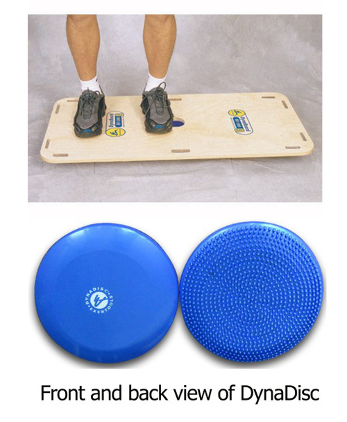 "Exertools DynaPac 24 (EXDDP24) Package Includes: 1 DynaDisc and a 20' x 40"" Dyna Board."