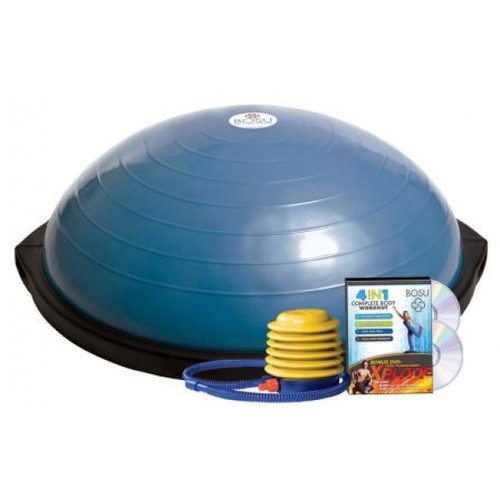 BOSU Total Training System with 4-in-1 DVD & 2 Xplode DVDs (10850-2XP)