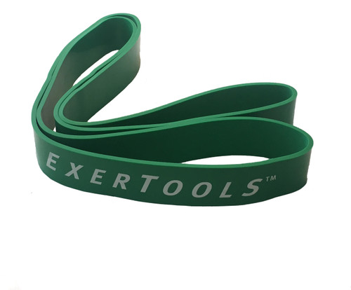 Exertools ExerPower Bands - Medium - Resistance - Green