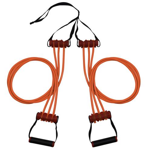 Triple Trainer Cable - R5 Resistance Cables - 50lbs - Orange image