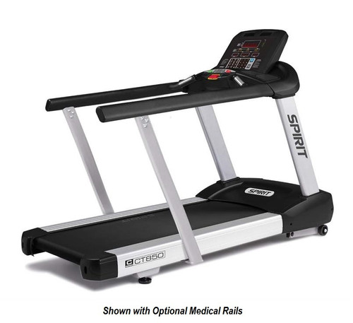 Spirit Fitness CT850 Treadmill Medical Handrails Option