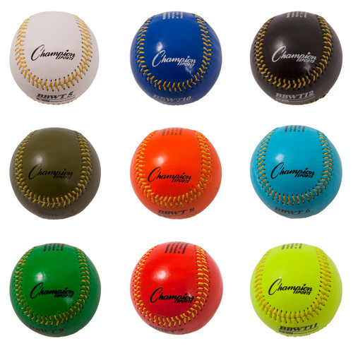 WEIGHTED TRAINING BASEBALLS SET OF 9