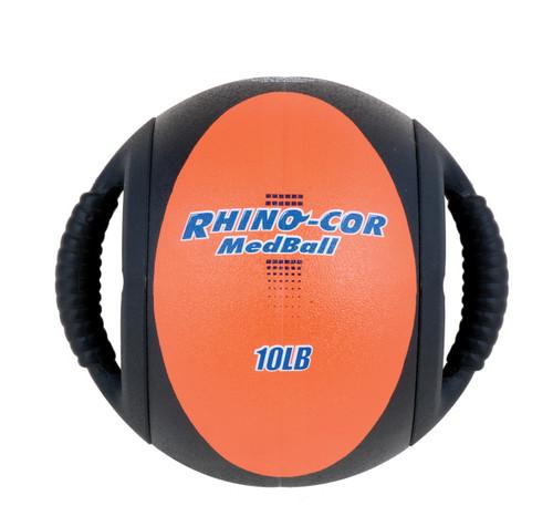 10 LB RHINO COR MEDICINE BALL