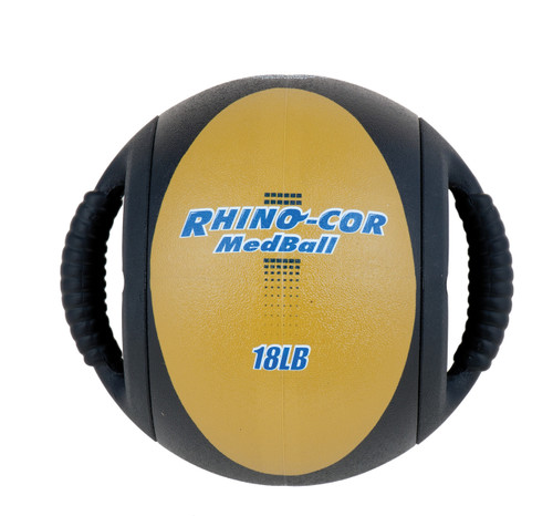 18 LB RHINO COR MEDICINE BALL