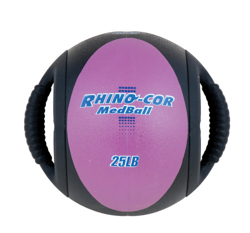 25 LB RHINO COR MEDICINE BALL