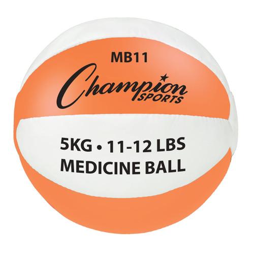 5 KG LEATHER MEDICINE BALL