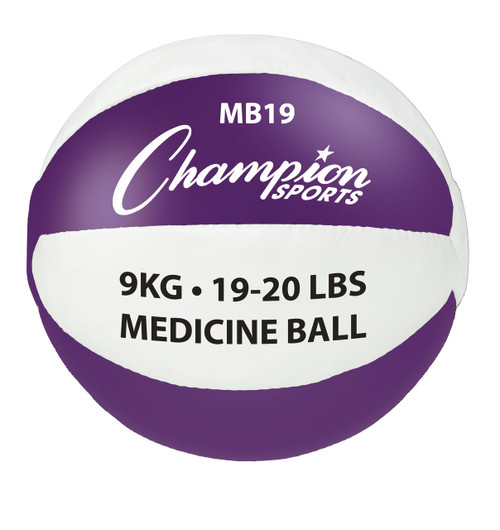 9KG LEATHER MEDICINE BALLS