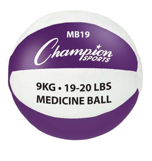 9KG LEATHER MEDICINE BALLS