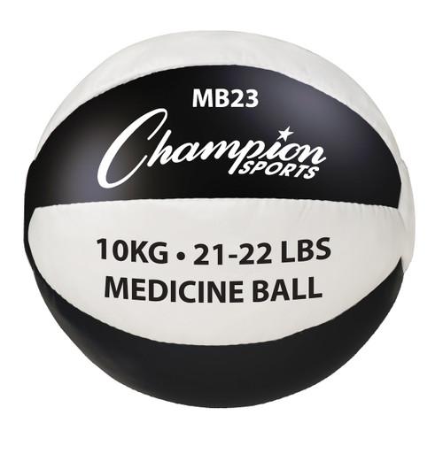 10KG LEATHER MEDICINE BALL