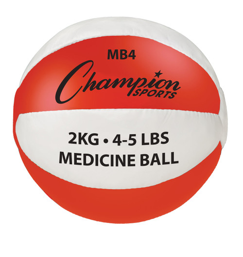 2 KG LEATHER MEDICINE BALL
