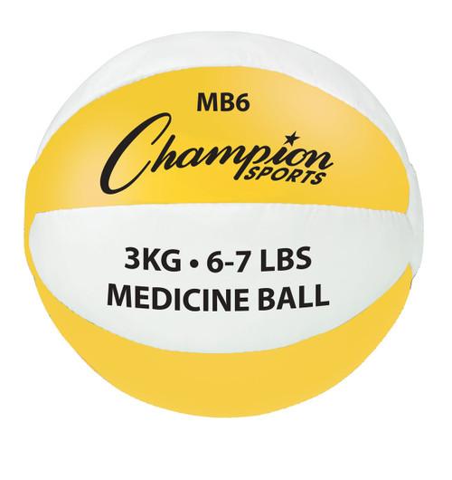 3 KG LEATHER MEDICINE BALL