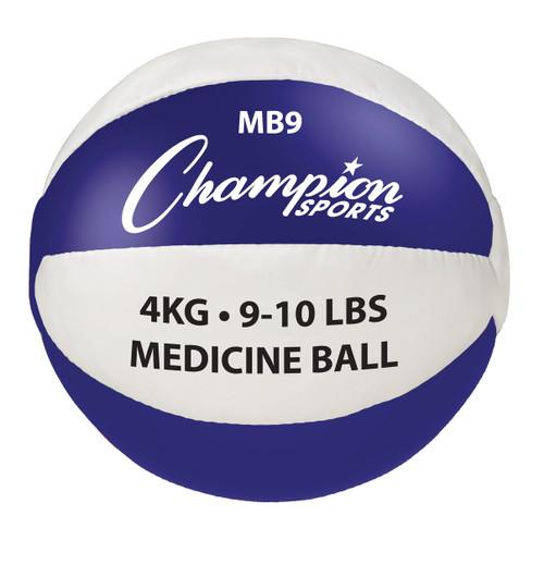4 KG LEATHER MEDICINE BALL