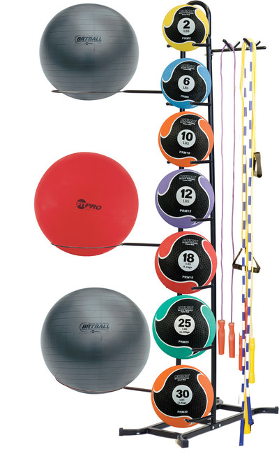 MEDICINE BALL CLUB RACK
