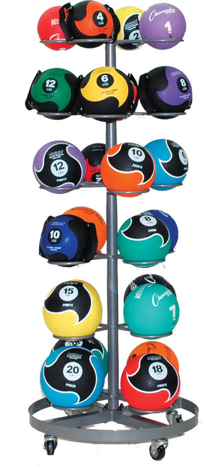 SELECT FIT 24 MEDICINE BALL RACK
