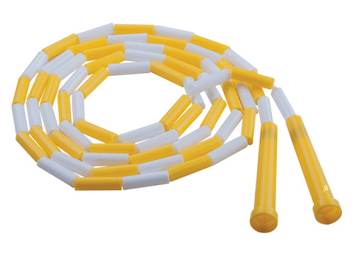 8 FT PLASTIC SEGMENTED JUMP ROPE