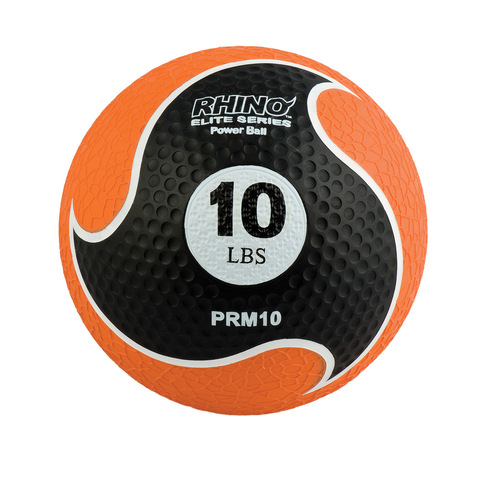 10 LB RHINO ELITE MEDICINE BALL