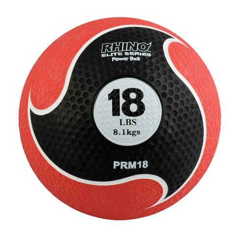 18 LB RHINO ELITE MEDICINE BALL