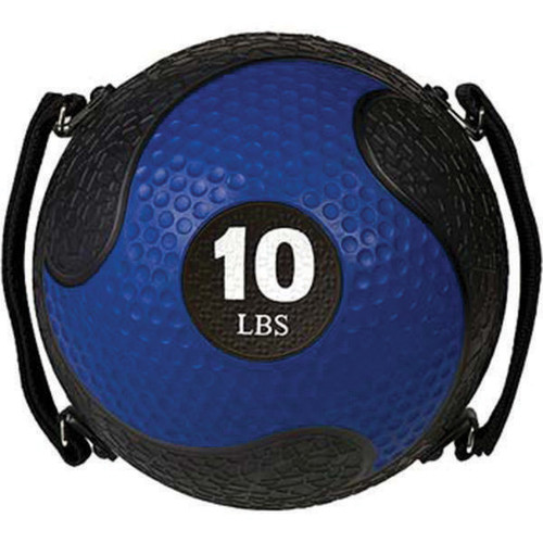 10 LB RHINO ULTRA GRIP MEDICINE BALL