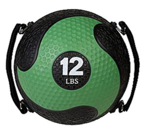 12 LB RHINO ULTRA GRIP MEDICINE BALL